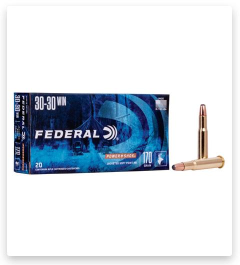 Federal Premium Power-Shok 30-30 Winchester Ammo 170 grain
