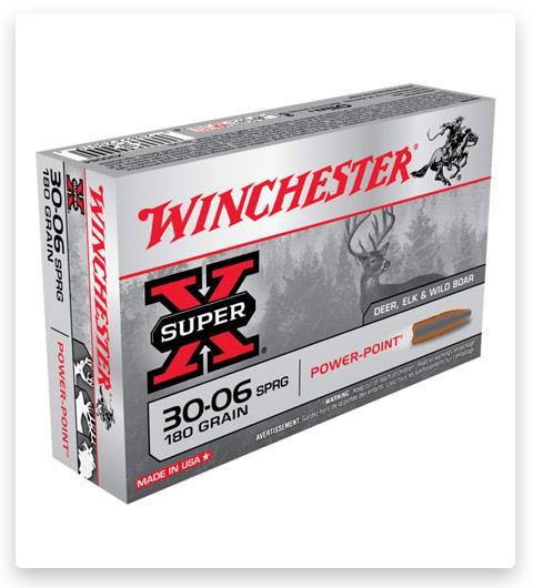 Winchester SUPER-X RIFLE 30-06 Springfield Ammo 180 grain