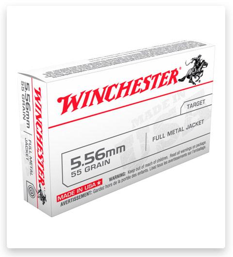 Winchester USA RIFLE 5.56x45mm NATO Ammo 55 Grain