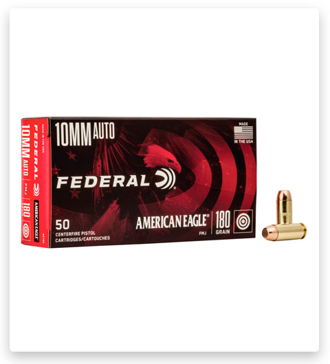 Federal Premium Centerfire Handgun 10mm Auto Ammo 180 grain