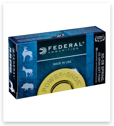 Federal Premium Power-Shok 30-30 Winchester Ammo 125 grain