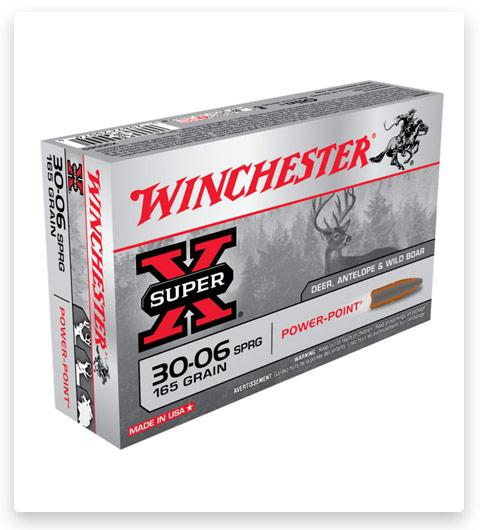 Winchester SUPER-X RIFLE 30-06 Springfield Ammo 165 grain