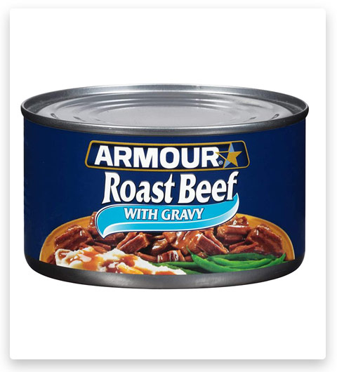 Armour Star Roast Beef With Gravy, Canned Meat
