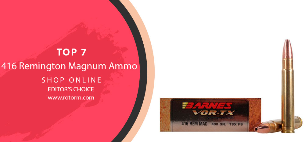 416 Remington Magnum Ammo