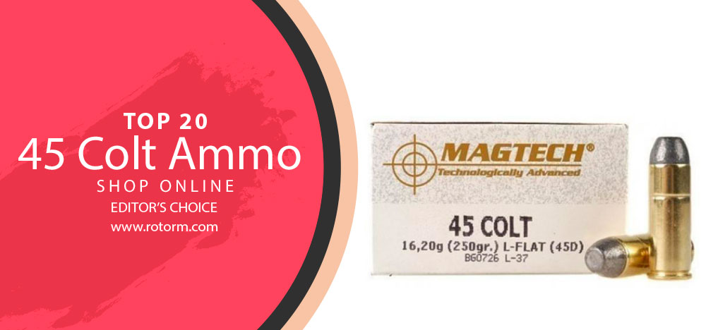Best 45 Colt Ammo - Editor's Choice