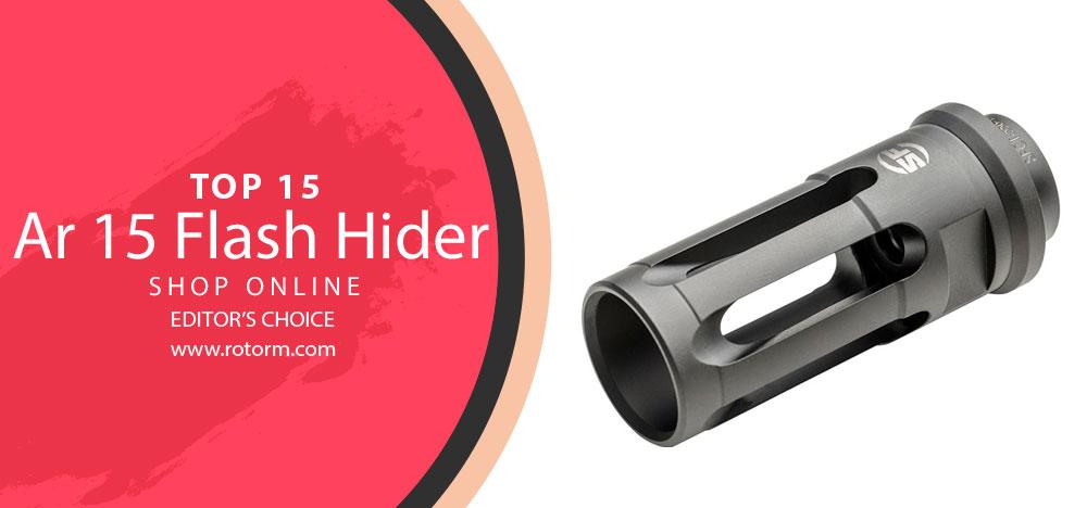 Best AR 15 Flash Hider - Editor's Choice