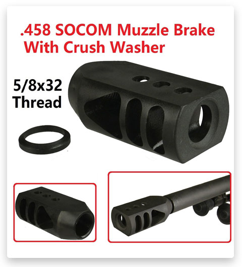 How To Instal 458 Socom Muzzle Brake
