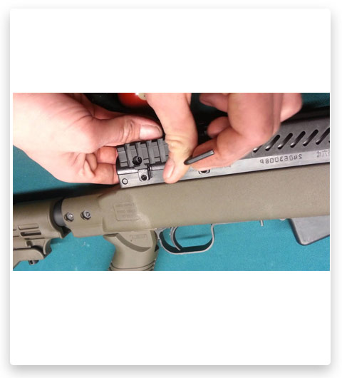 How To Install Scope Mount At AR-15
