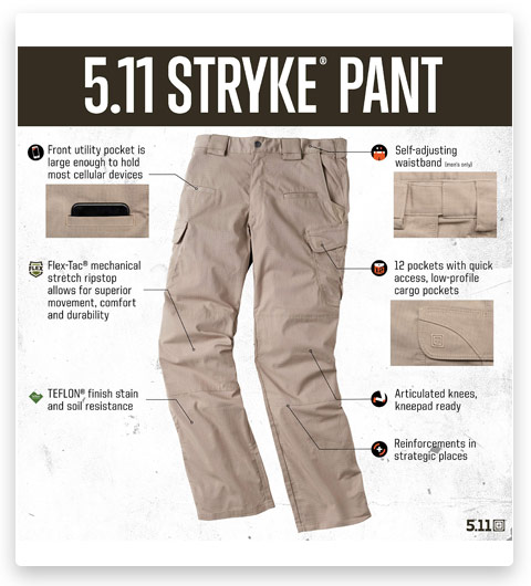 5.11 Tactical Stryke PDU Men's Pant