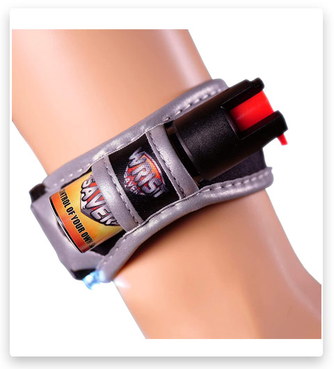 Wrist Saver Pepper Spray for Runners