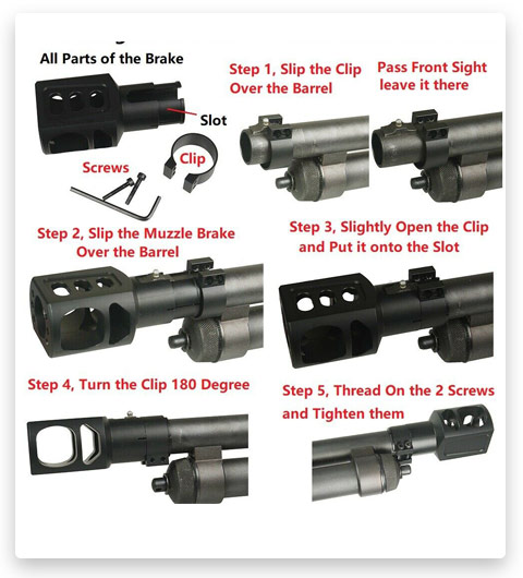 How to Install 5.56 Muzzle Brake