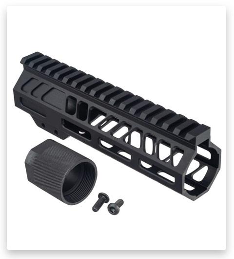 TRYBE Defense AR-15 Lightweight M-LOK Handguard with Full Rail