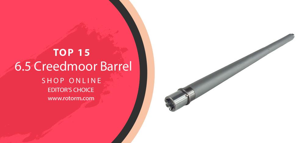 Best 6.5 Creedmoor Barrel - Editor's Choice